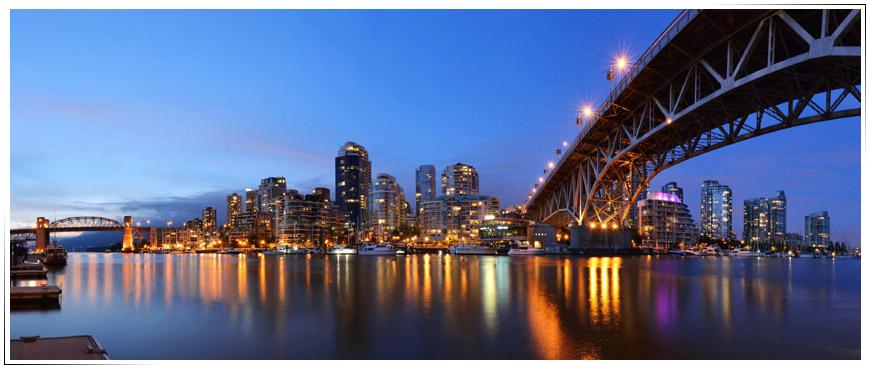 Vancouver Bridge - Carlos de Ibarrola